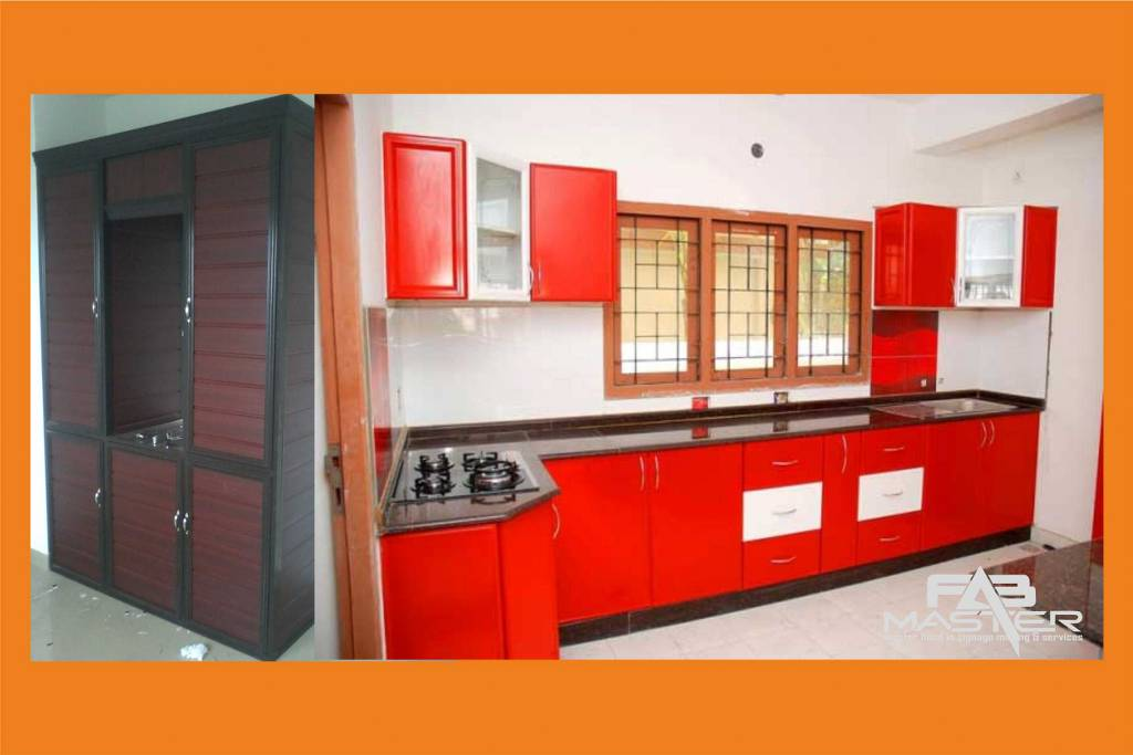Aluminium fabrication and modular kitchen cupboards fab for Perfect kitchen fabrication