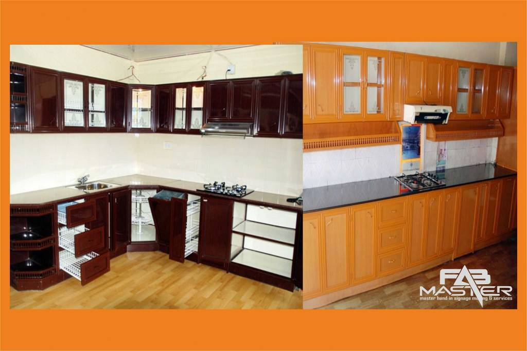 aluminium fabrication and modular kitchen cupboards fab